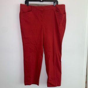 ⭐️3/$25⭐️ Rafaella Comfort Red trouser Pants